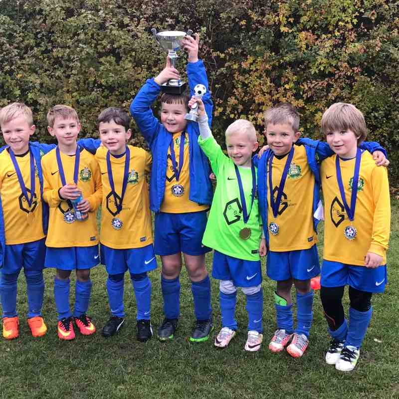 U7 Trophy Winners