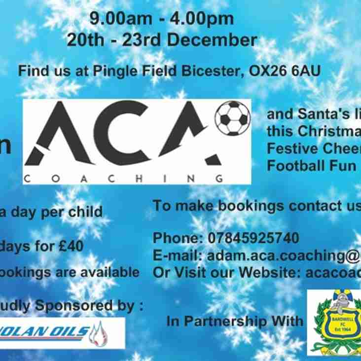 ACA Coaching's Christmas Camp