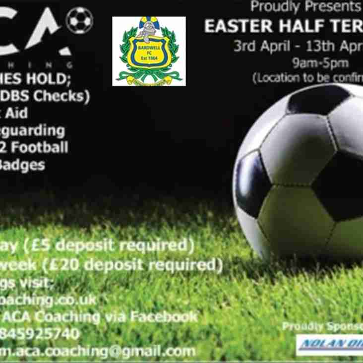 ACA Coaching's Easter Camp