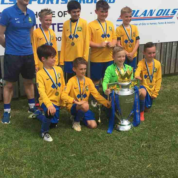 U9's tournament winners