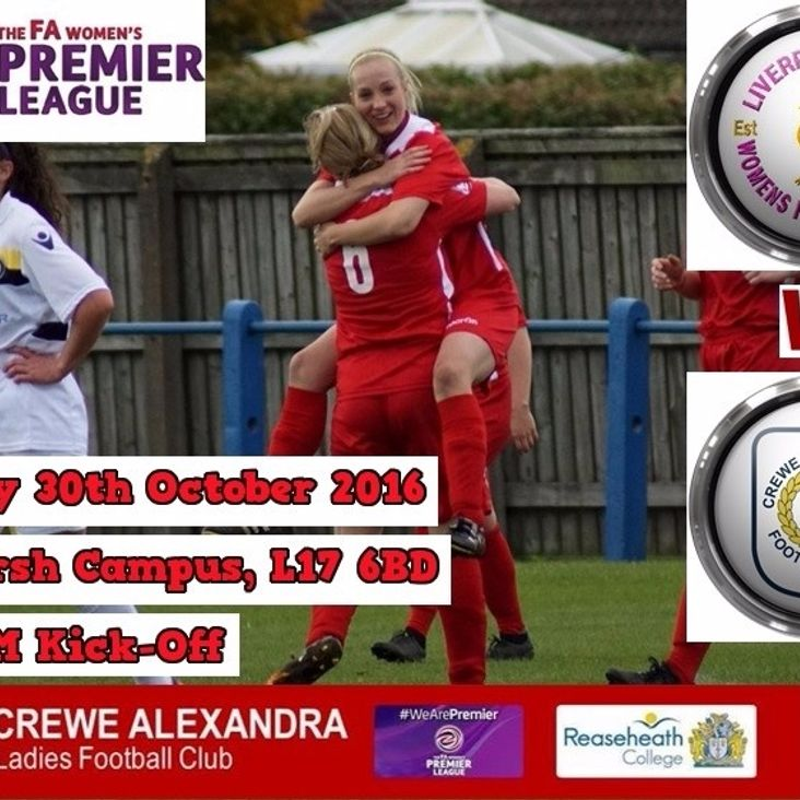 1st Team Match Preview - Liverpool Marshall Feds Ladies (A)<