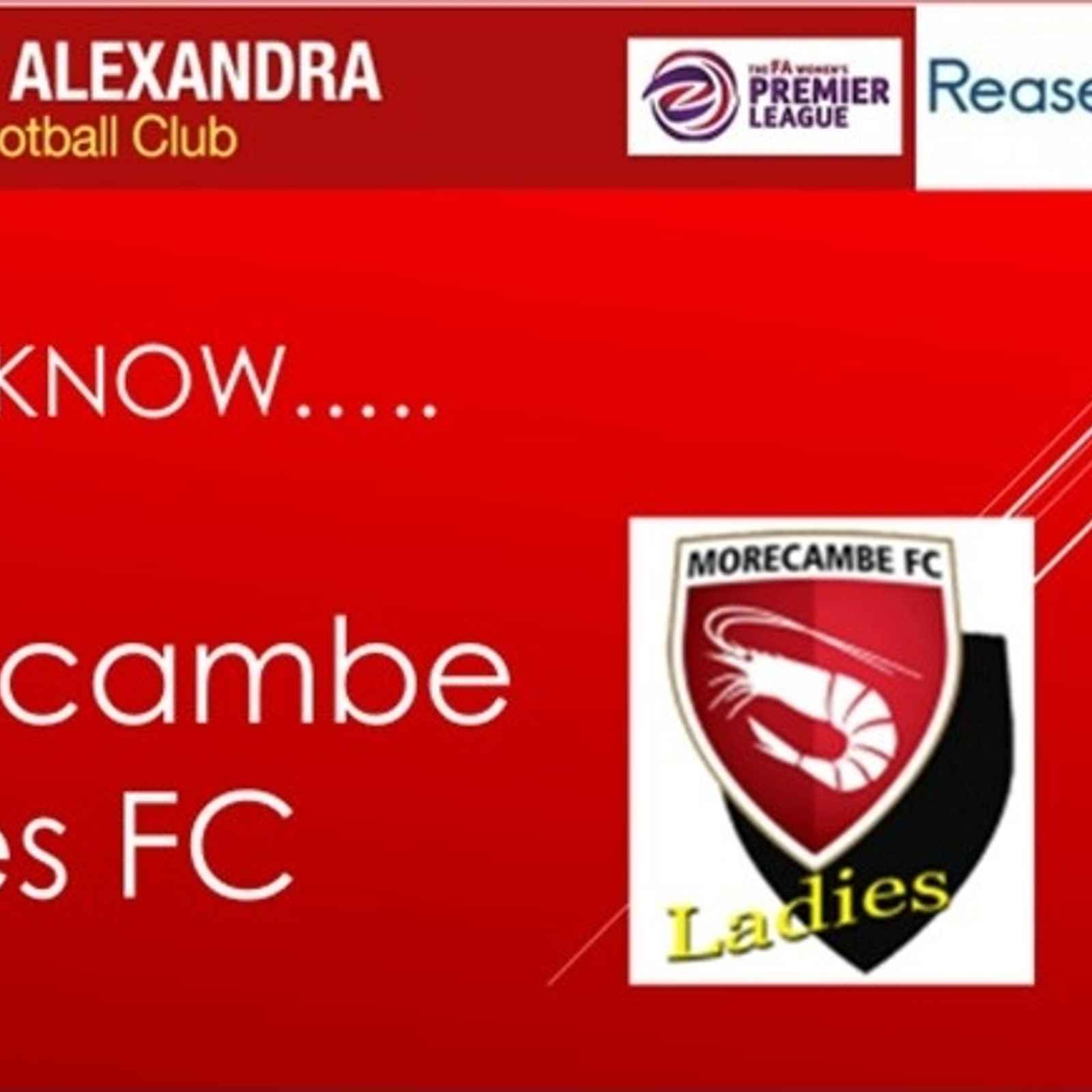 Get to know...Morecambe Ladies FC