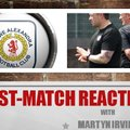 Post-Match Reaction With Martyn Irvine