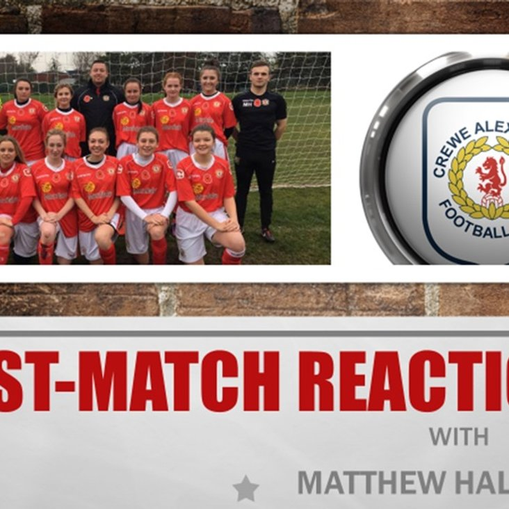 Post-Match Reaction With Matthew Halliwell<