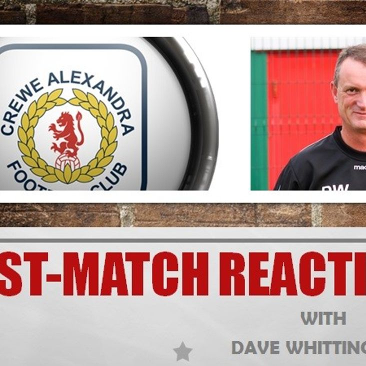 Post-Match Reaction With Dave Whittingham<