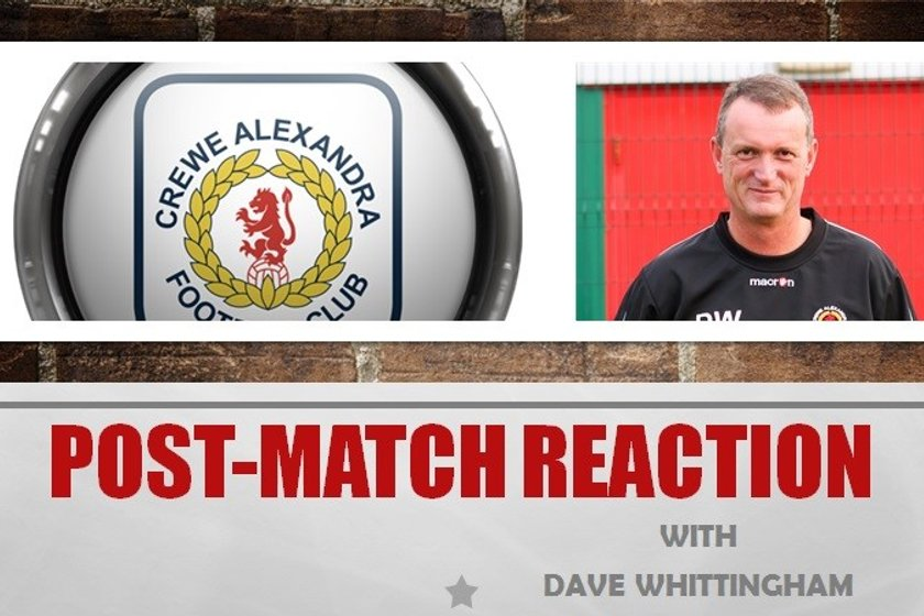 Post-Match Reaction With Dave Whittingham