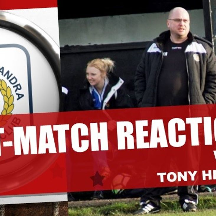 Post-Match Reaction With Tony Heron<