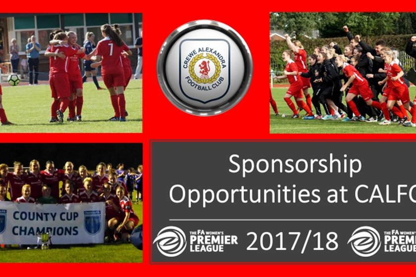 Sponsorship Opportunities at CALFC
