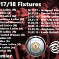 2017/18 First Team Fixtures Released