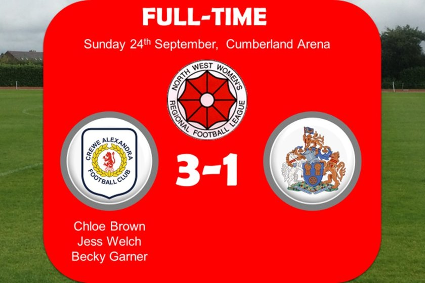 Development Squad Come From Behind To Beat Altrincham Ladies