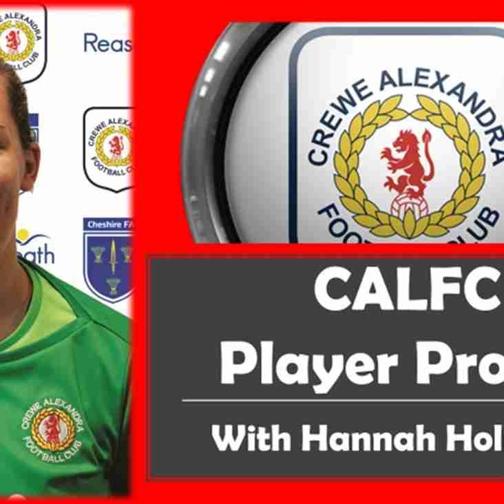 CALFC Player Profile Featuring Hannah Holloway