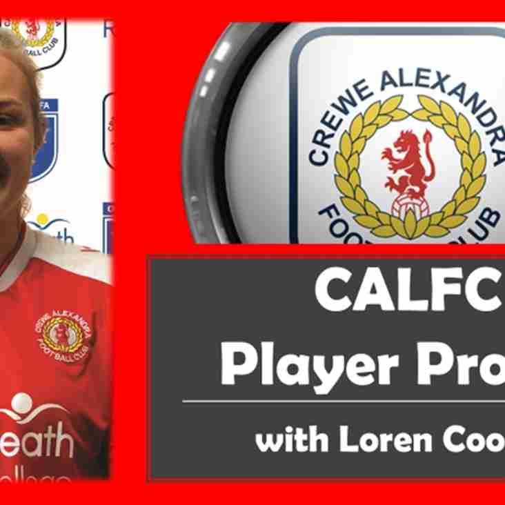 CALFC Player Profile Featuring Loren Cooper
