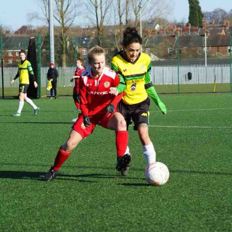 CALFC Development Squad 9-1 Burscough Dynamo Ladies (Argyle Sports Plate QF)