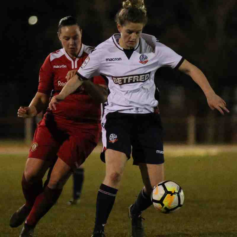 CALFC vs Bolton Wanderers Ladies (2017/18 Season)