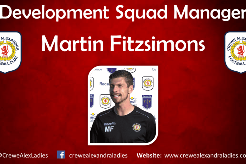 New Development Squad And Under 18's Managers Announced