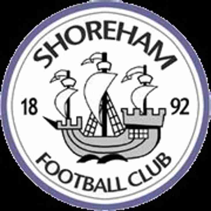 BREAKING NEWS - it's Shoreham THIS Wednesday