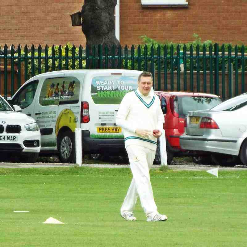 2nd XI vs Wythall at home - 21.5.2016