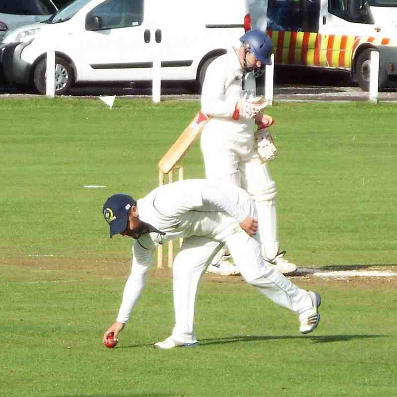 1st team home defeat vs Earlswood - 22.5.2016