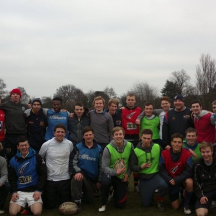 Touch Rugby at the Uni<