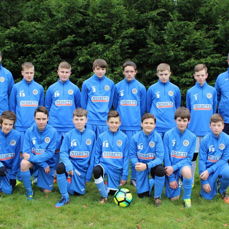 U14 Blues beat Mangotsfield United Eagles 0 - 1