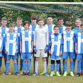 Under 15 Blues lose to St Vallier 3 - 2