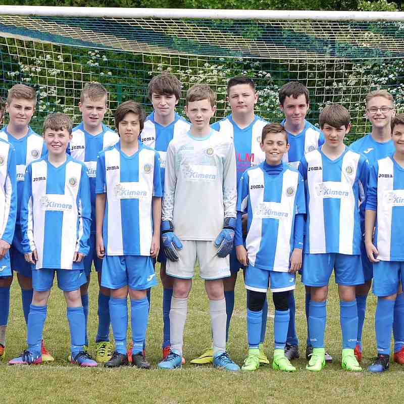 Oldland Abbotonians Blues u15's