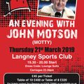 An Evening With John Motson
