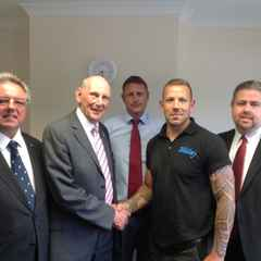 First Team Captain, Sam Parsons scores individual player sponsorship deal with Bernard Williams & Son!