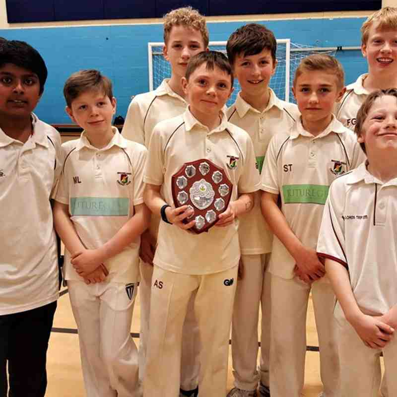 Under 12 Indoor league win 2017