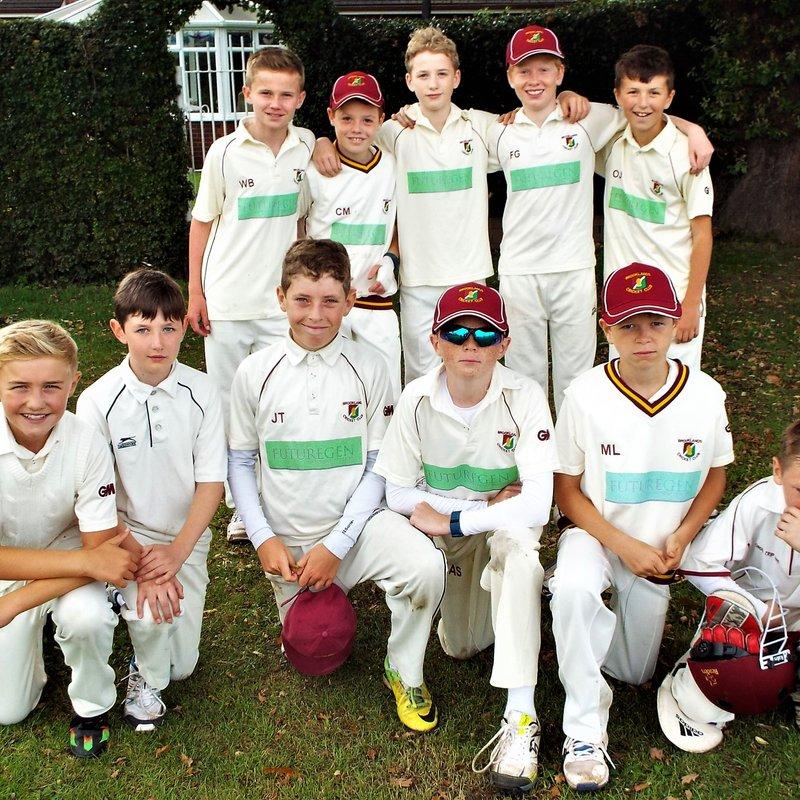 Brooklands CC, Cheshire - Under 13 153/7 - 89/5 Alderley Edge CC - Under 13 Hedgehogs