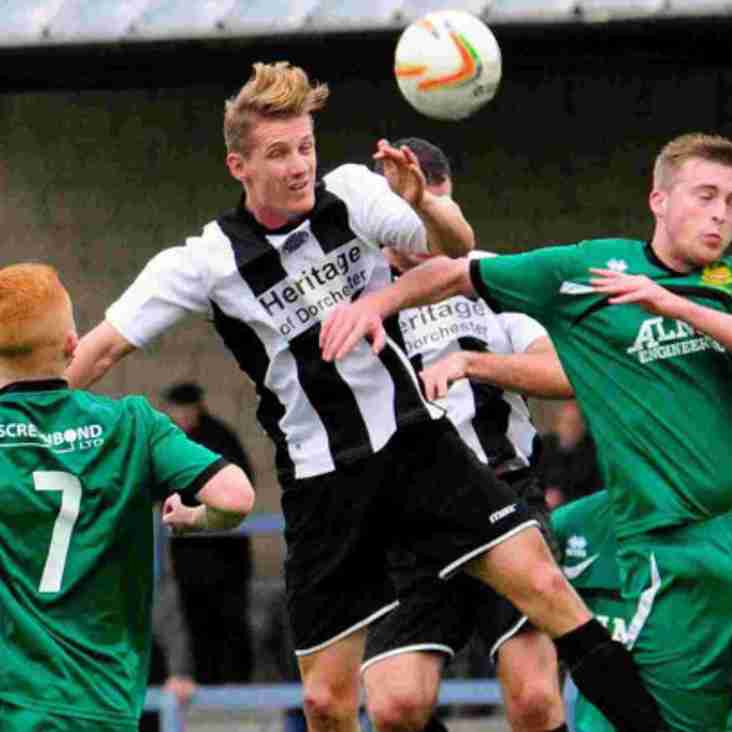 Sam Lanahan signs for Dorchester Town