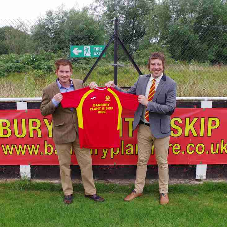 Banbury United sign new sponsorship deal