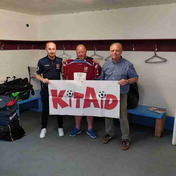 Chesham United Continues To Support KitAid
