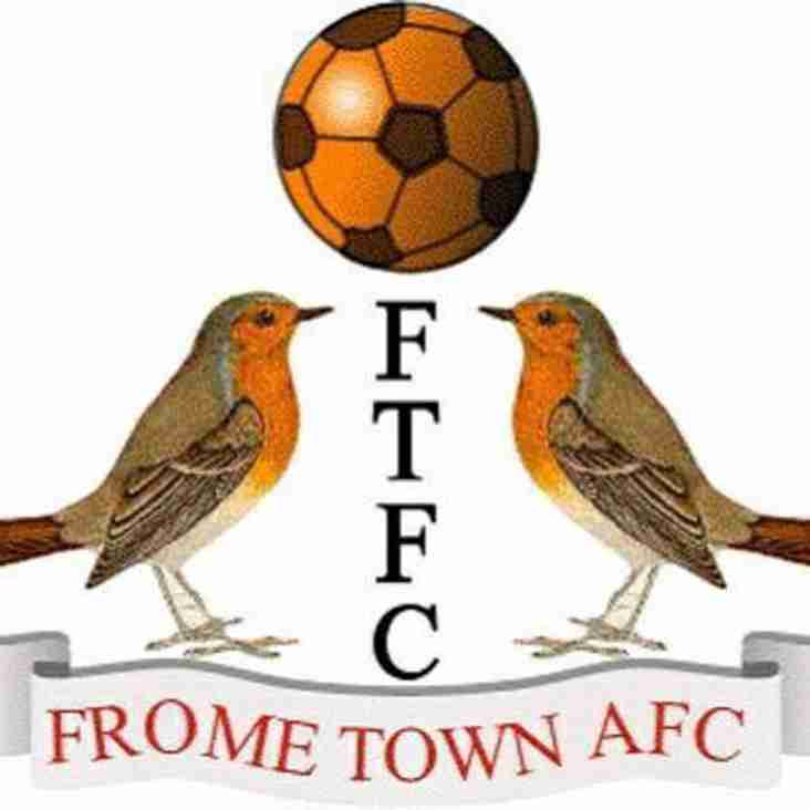 Frome Town Looking For Another Positive Season