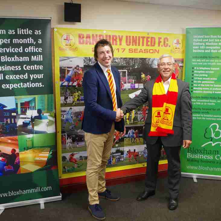 New Media Sponsor for Banbury United