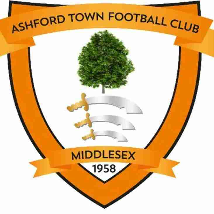 Ashford Town (Middx) Secure Friendly