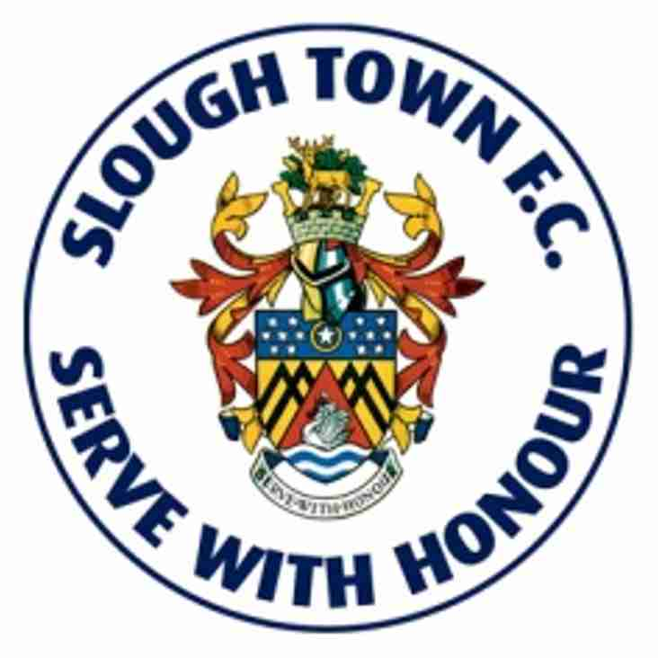 Slough Named Team of the Week