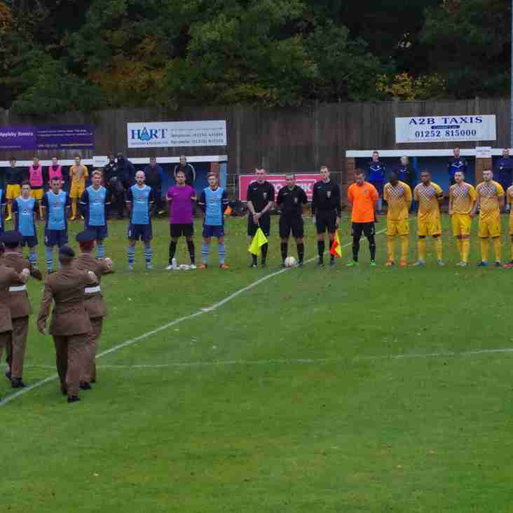 Rememberance Before Aylesbury Game