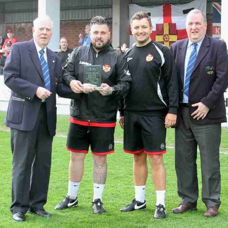 The Poppies Presented with Award