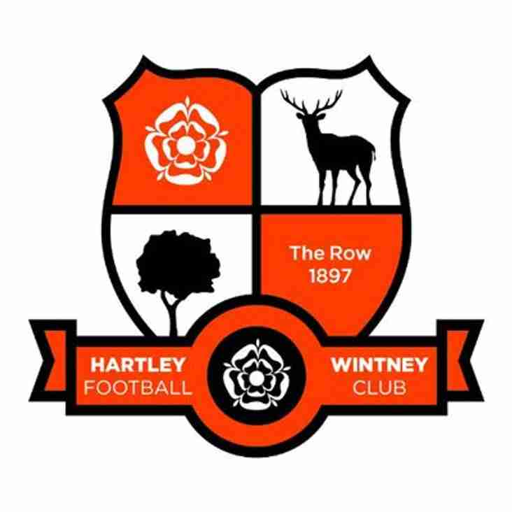 Hartley Wintey bring in winger