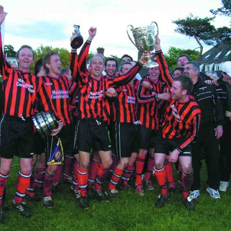 Cromer town  Sterry cup winners 2003/04