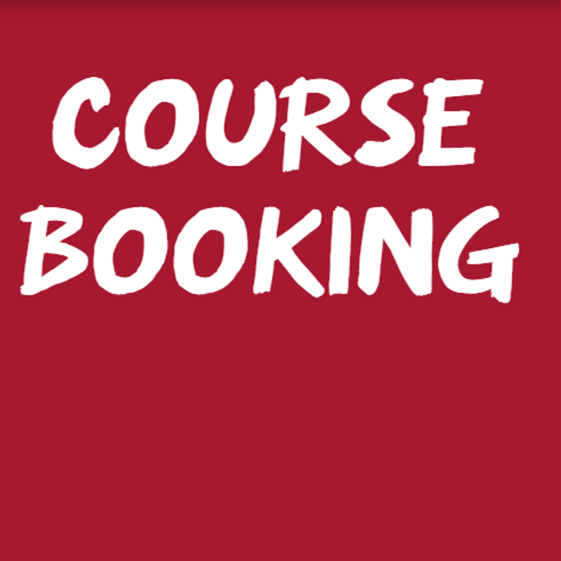 Courses Available 1st March to 30th June