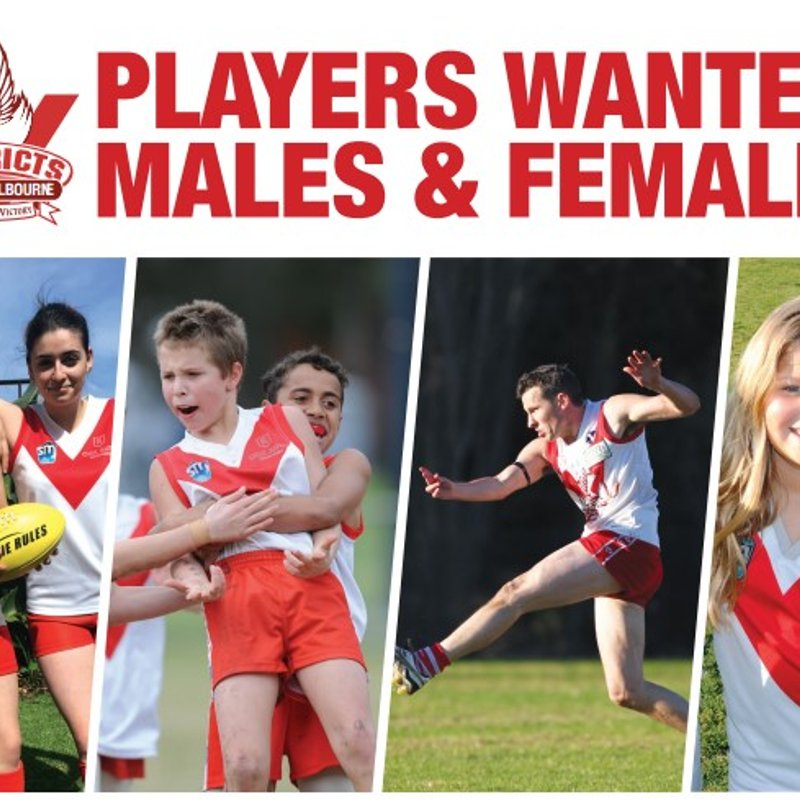 Junior Footy - open for early bird registrations