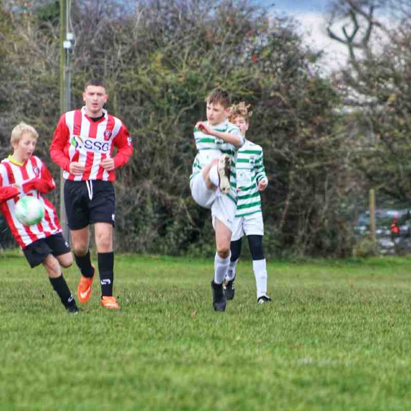 v Kempston Rovers Colts U14 3/12/17