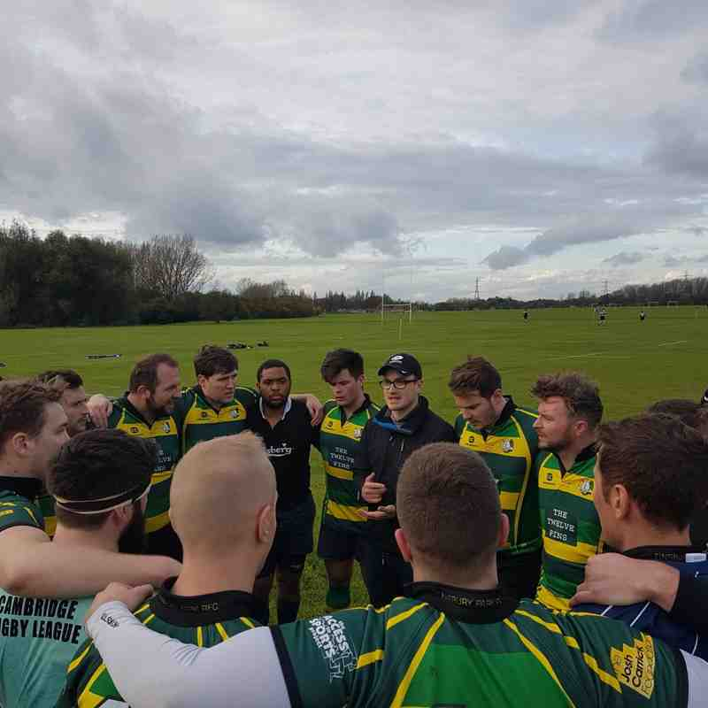 Finsbury Park 1st XV vs West London Hackney Marshes 04NOV17