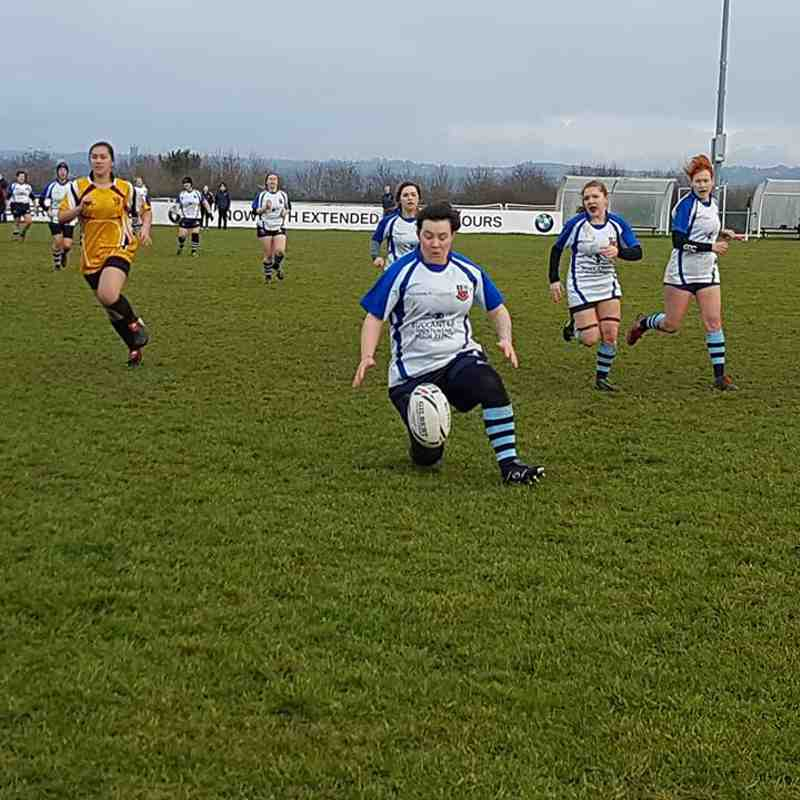 WPLRFC V Longton Ladies - AWAY