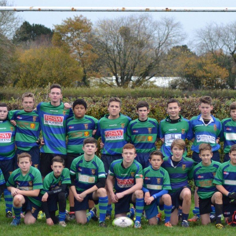 Burnham on Sea U16's 12 v 53 Saints U16's