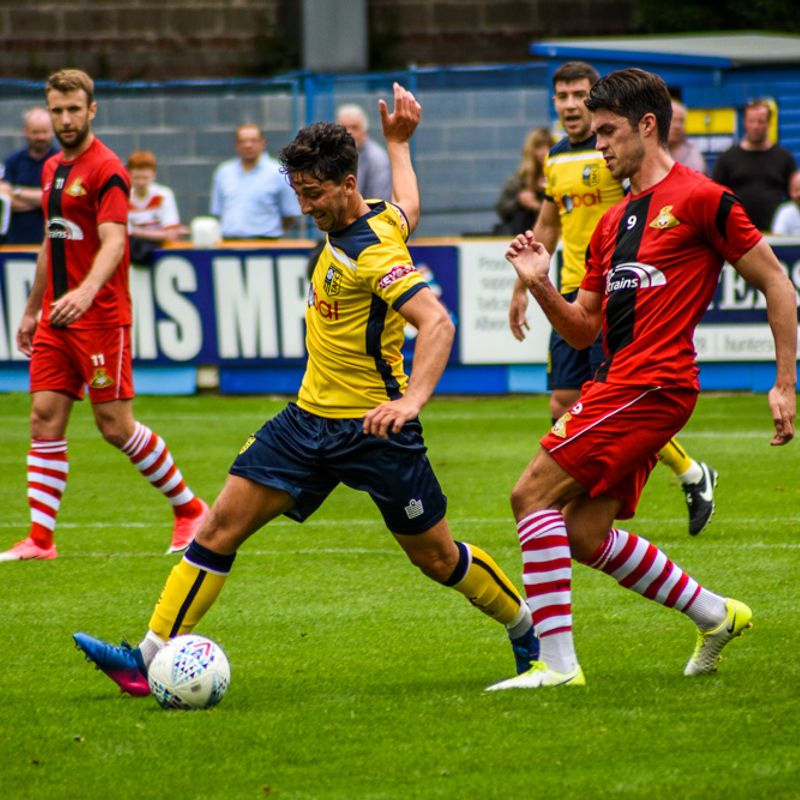 REPORT   Brewers Edged Out By League One Rovers