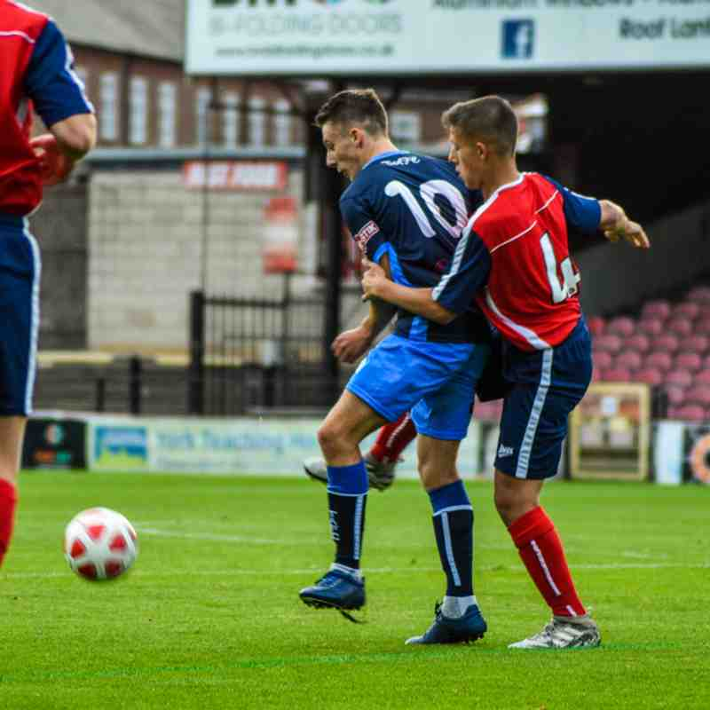 York City v Tadcaster Albion U18s