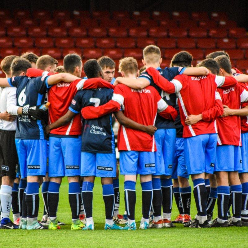 Tadcaster Albion U21's  lose to Campion 2 - 1